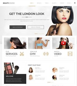 Beauty Center with full width slider