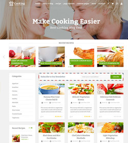 Cooking - Header with image