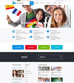 Language school + WCAG 2.0 / ADA / 508 Standards