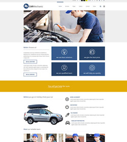 Car mechanic company  + WCAG 2.0 / ADA / 508 Standards